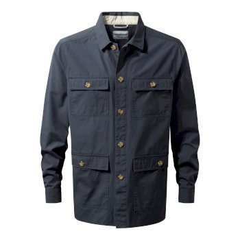 Bridport Shirt Jacket - Ombre Blue