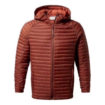 Venta Lite Hooded Jacket - Burnt Umber