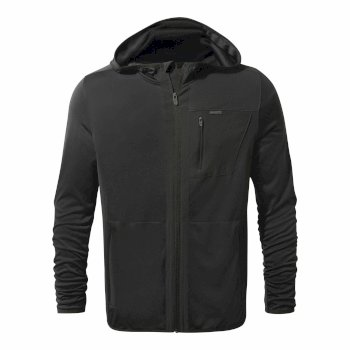 NosiLife Elgin Hooded Jacket - Black Pepper