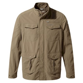 Men's Insect Shield® Adventure Jacket II - Pebble