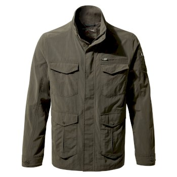 Men's Insect Shield® Adventure Jacket II - Woodland Green