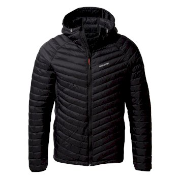 Men's Expolite Hooded Jacket - Black