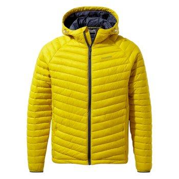 Expolite Hooded Jacket - Molten Yellow