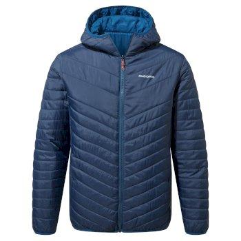 Compresslite V Hooded Jacket - Blue Navy / Poseidon Blue