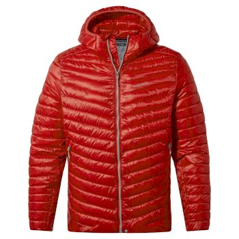 Men's ExpoLite Hooded Jacket - Pompeian Red