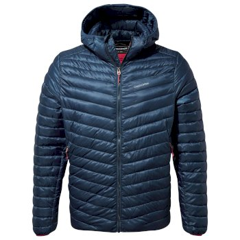 Men's ExpoLite Hooded Jacket - Poseidon Blue