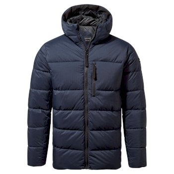 Findhorn Hooded Jacket - Blue Navy