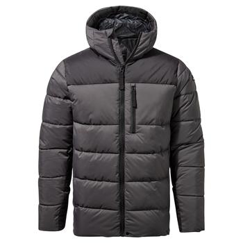Findhorn Hooded Jacket - Coast Grey / Black