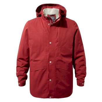 Axel Jacket - Firth Red / Platinum / Black