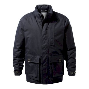 Feargan Jacket - Dark Navy