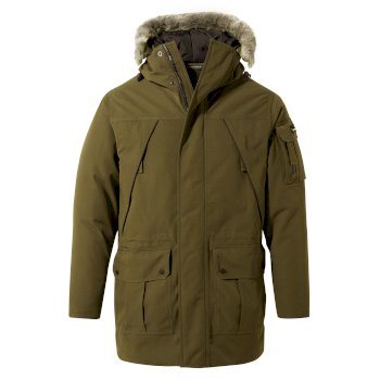 Bishorn Jacket    - Woodland Green