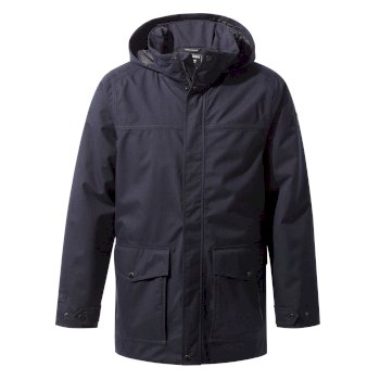 Castor Jacket     - Dark Navy