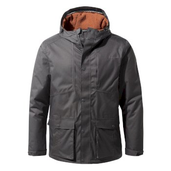Men's Kiwi Thermic Jacket - Black Pepper