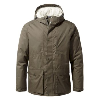 Men's Kiwi Thermic Jacket - Woodland Green