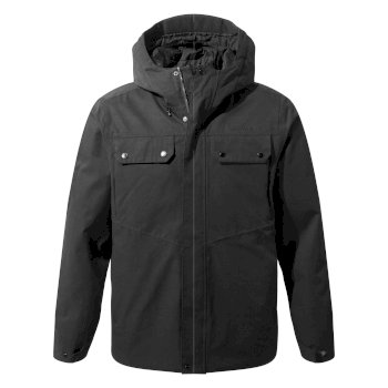 Men's Sabi Jacket       - Black