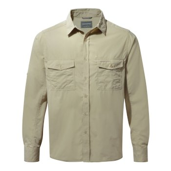 Men's Kiwi Long-Sleeved Shirt - Oatmeal