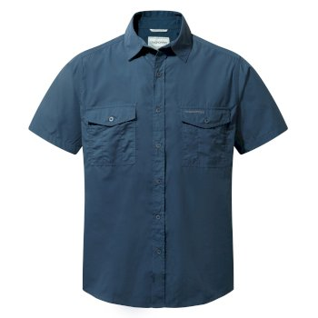 Kiwi Short-Sleeve Shirt - Faded Indigo