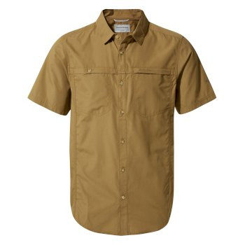 Kiwi Trek Short-Sleeve Shirt - Kangaroo