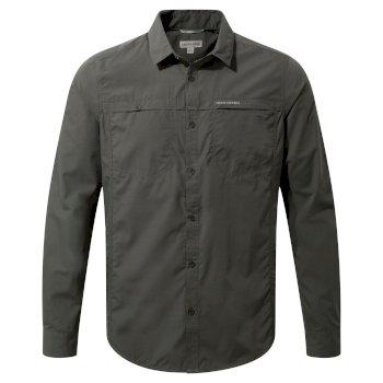 Kiwi Trek Long-Sleeve Shirt - Ashen