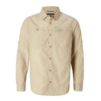 Kiwi Trek Long-Sleeve Shirt - Oatmeal