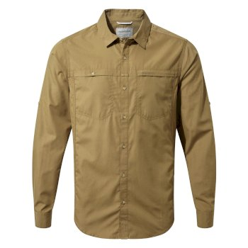 Kiwi Trek Long-Sleeve Shirt - Kangaroo