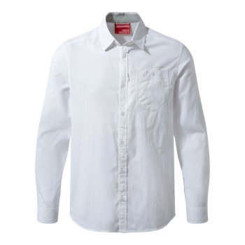 NosiLife Tatton Long-Sleeve Shirt - Optic White