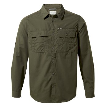 Adventure Trek Long-Sleeve Shirt - Dark Khaki