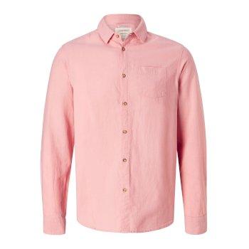 Porter langarm Hemd - Desert Pink