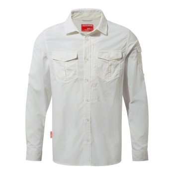 Insect Shield Adventure Long-Sleeve Shirt - Optic White