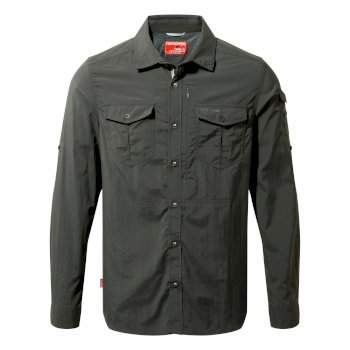 NosiLife Adventure Long-Sleeve Shirt - Black Pepper