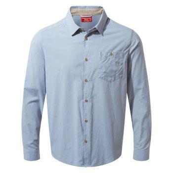 NosiLife Nuoro Long-Sleeved Shirt - Fogle Blue