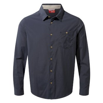 NosiLife Nuoro Long-Sleeved Shirt - Steel Blue