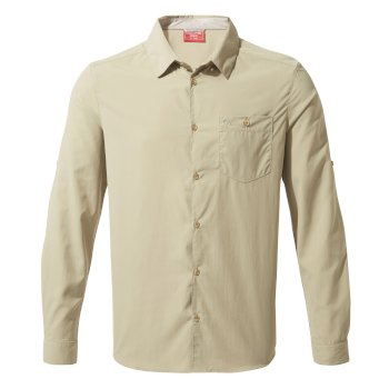 Insect Shield Nuoro Long-Sleeved Shirt - Rubble
