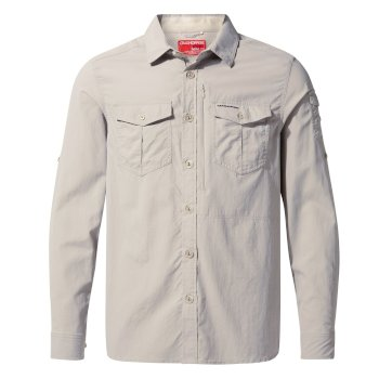 NosiLife Adventure II Long-Sleeved Shirt  - Parchment