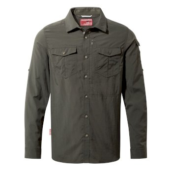 NosiLife Adventure II Long-Sleeved Shirt  - Dark Khaki