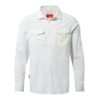 NosiLife Adventure II Long-Sleeved Shirt  - Optic White