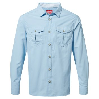 NosiLife Adventure II Long-Sleeved Shirt  - Harbour Blue