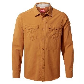 Men's Insect Shield® Adventure II Long-Sleeved Shirt - Cumin