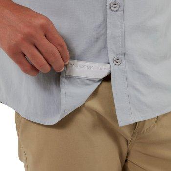 NosiLife Adventure II Short-Sleeved Shirt  - Cloud Grey
