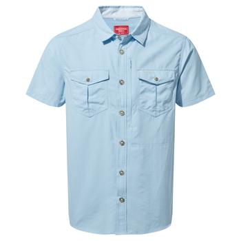 NosiLife Adventure II Short-Sleeved Shirt  - Harbour Blue
