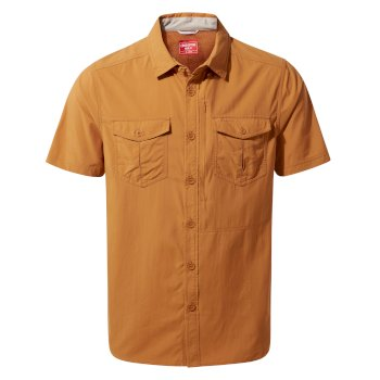 Insect Shield® Adventure II Short-Sleeved Shirt  - Cumin