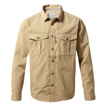 Kiwi Ripstop Long-Sleeved Shirt - Raffia