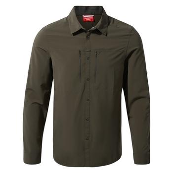 NosiLife Pro IV Long Sleeved Shirt - Woodland Green