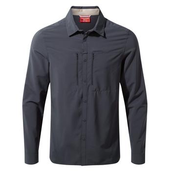 NosiLife Pro IV Long Sleeved Shirt - Steel Blue