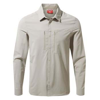 Men's Insect Shield® Pro IV Long-Sleeved Shirt - Parchment