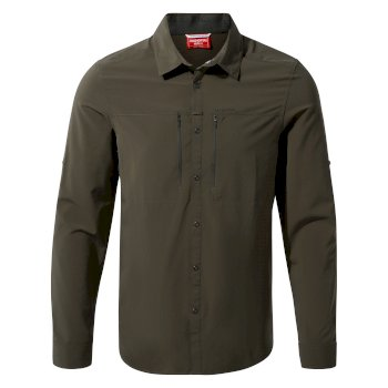 Men's Insect Shield® Pro IV Long-Sleeved Shirt - Woodland Green