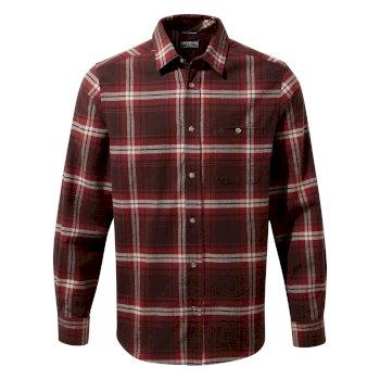 Wilmot Long Sleeved Shirt - Elk Brown Check