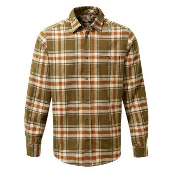 Wilmot Long Sleeved Shirt - Woodland Green Check