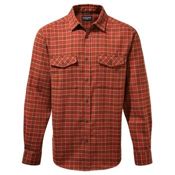 Kiwi III Check Long Sleeved Shirt - Sequoia Red Check