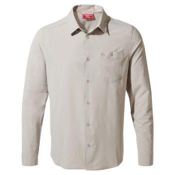 NosiLife Hedley Long Sleeved Shirt - Parchment